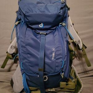 Men's deuter hiking backpack